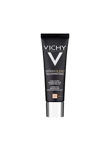 Vichy VICHY Dermablend 3 Boyutlu Düzeltici Fondöten SPF25 30 ml - GOLD 45 Ten
